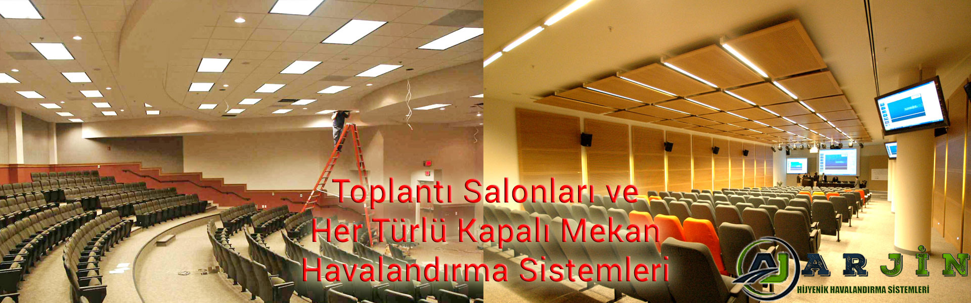 Toplantı salonu havalandırma sistemi